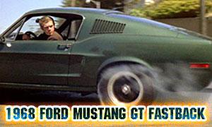 1968 Ford Mustang GT Fastback - Bullitt (1968)