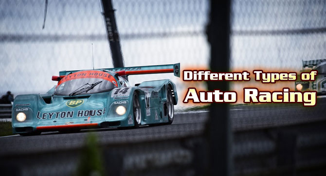 Photo of Different Types of Auto Racing