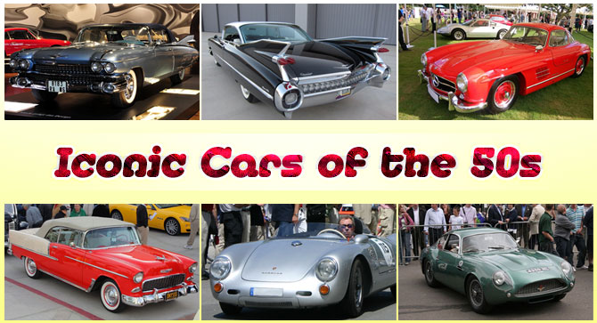 Iconic Cars of the 50s