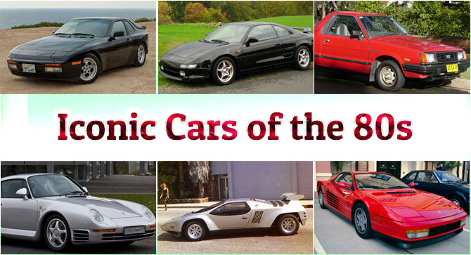 Photo of Iconic Cars of the 80s