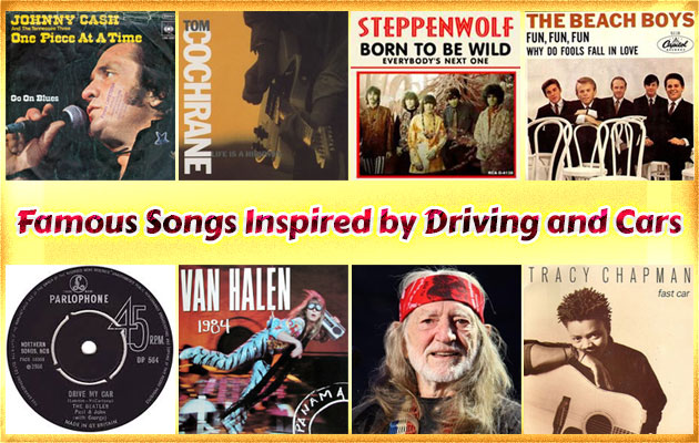 Famous Songs Inspired by Driving and Cars