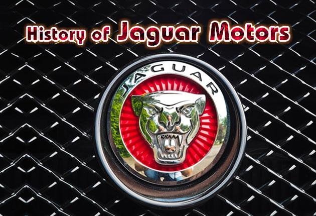 History of Jaguar Motors