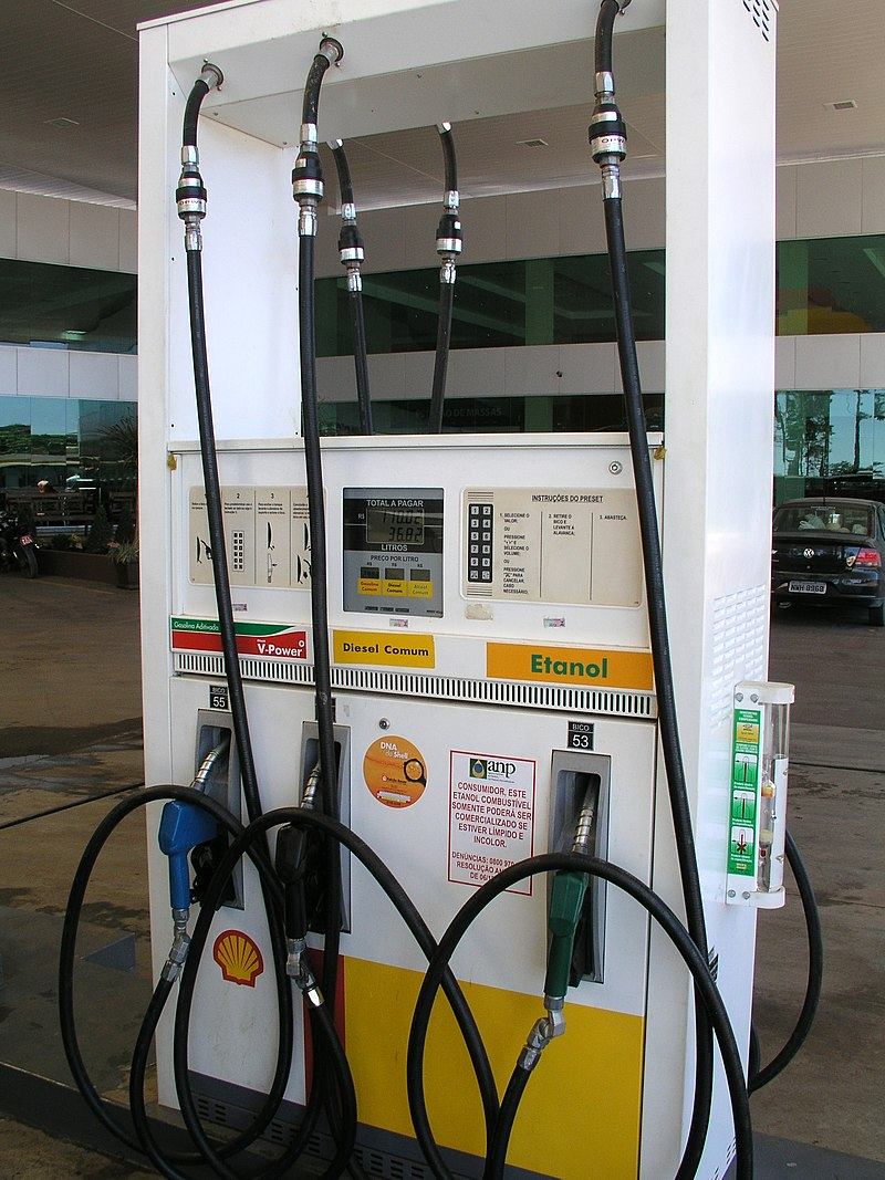 ethanol gas pump option