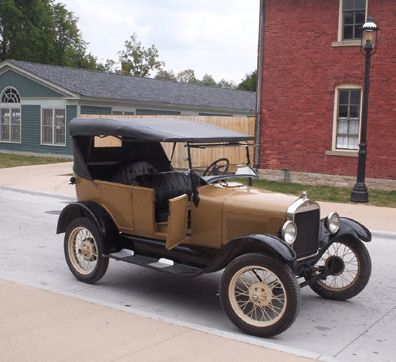 A 1927 Ford Model T